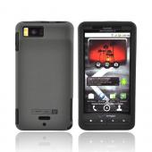 Original Naztech Motorola Droid X MB810 Hard Cover Over Silicone w/ Screen Protector, 11069 - Black/Gray