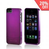 Body Glove Purple Vibe Series Hard Slider Case for Apple iPhone 5