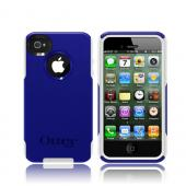 Otterbox AT&amp;T/ Verizon Apple iPhone 4, iPhone 4S Hybrid Commuter Series w/ Screen Protector - Blue/ White