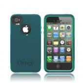 Otterbox AT&amp;T/ Verizon Apple iPhone 4, iPhone 4S Hybrid Commuter Series w/ Screen Protector - Dark Teal/ Light Teal