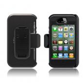 Otterbox AT&amp;T/ Verizon Apple iPhone 4, iPhone 4S Defender Series Hard Case w/ Built-In Screen Protector &amp; Holster - Urban Black Digital Camo