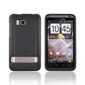 Original HTC Thunderbolt Rubberized Hard Case, 70H00373-04M - Black