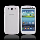 OEM Dicota Slim Cover Samsung Galaxy S3 Crystal Silicone Case, D30557 - Transparent Clear