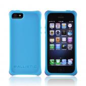 OEM Ballistic Apple iPhone 5 Lifestyle Smooth Gel Skin Case w/ Interchangeable Corner Bumpers, LS0955-M075 - Teal
