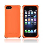 OEM Ballistic Apple iPhone 5 Lifestyle Smooth Gel Skin Case w/ Interchangeable Corner Bumpers, LS0955-M435 - Orange