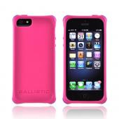 OEM Ballistic Apple iPhone 5 Lifestyle Smooth Gel Skin Case w/ Interchangeable Corner Bumpers, LS0955-M695 - Hot Pink