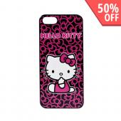 Officially Licensed Sanrio Apple iPhone 5 Hard Back Cover, KT4489PBW - Hello Kitty w/ Bows
