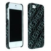 Kenneth Cole Reaction Black/ Gray Essex Series Faux Leather Case for Apple iPhone 5
