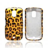 OEM MultiPro Samsung Galaxy S Lightray 4G Hard Case - Gold/ Black Leopard