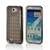 MultiPro Argyle Smoke Crystal Silicone Case for Samsung Galaxy Note 2