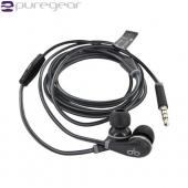 OEM PureGear PureBoom Universal Headset Earbuds w/ Mic &amp; Case (3.5mm) - Black/ Gray