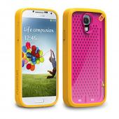 PureGear Hot Pink/ Orange Undecided Flexible Gamer Case for Samsung Galaxy S4 - 60171PG