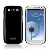 Odoyo Cool Black Hard Case w/ Screen Protector for Samsung Galaxy S3 - Sparkle Series