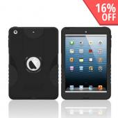 Trident Aegis Black Hard Case Over Silicone w/ Screen Protector for Apple iPad Mini