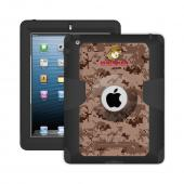 Trident U.S. Marines iPad 4 Case | [Brown Digital Camo] Kraken AMS U.S. Marines Series Rugged Protective Polycarbonate on Silicone Dual Layer Hybrid Case w/ Built-in Screen Protector for Apple iPad 4 | U.S. Marines Licensed!