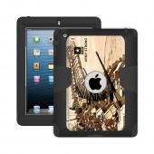 Trident U.S. Army iPad 4 Case | [Gray] Kraken AMS U.S. Army Series Rugged Protective Polycarbonate on Silicone Dual Layer Hybrid Case w/ Built-in Screen Protector for Apple iPad 4 | U.S. Army Licensed!