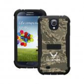 Trident U.S. Air Force Galaxy S4 Case | [Green Camo] Cyclops U.S. Air Force Series Rugged Fused Polycarbonate & Thermo Poly Elastomer (Super TOUGH!!) Hybrid Case w/ Built-in Screen Protector for Samsung Galaxy S4 | U.S. Air Force Licensed!