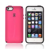 OEM Speck CandyShell Apple iPhone 5 Hard Case, SPK-A0480 - Pink/ Black
