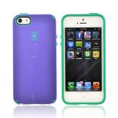 OEM Speck CandyShell Apple iPhone 5 Hard Case, SPK-A0766 - Purple/ Green