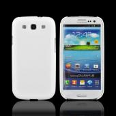 OEM Rearth Samsung Galaxy S3 Ringke Slim Hard Case w/ Screen Protector - Alpine White