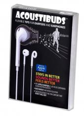 Burton Technologies Black 2 Pack Acoustibuds EarPod, Flat Faced Earphone and Bluetooth Headset Covers - EPB-BLACK