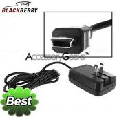 Original BlackBerry MiniUSB Folding Blade Travel Charger, ACC-10600-001