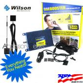Wilson Electronics Amp and Glass Mount Antenna Package, 811210 + 301102