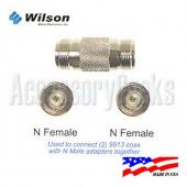 FME Male to SMA Male Connector - 971119