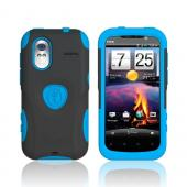 Original Trident Aegis HTC Amaze 4G Hard Cover Over Silicone Case w/ Screen Protector, AG-AMAZE-BL - Blue/ Black