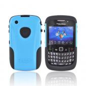 Original Trident Aegis Blackberry Curve 3G 9330, 9300, 8520, 8530 Hard Cover Over Silicone Case w/ Screen Protector, AG-BB-9330-BL - Blue/Black