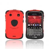 Original Trident Aegis Blackberry Bold 9900, 9930 Hard Cover over Silicone Case w/ Screen Protector, AG-BB-9930-RD