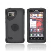 Original Trident Aegis Motorola Droid Bionic XT875 Hard Cover Over Silicone Case w/ Screen Protector, AG-BIO-BK - Black
