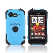Original Trident Aegis HTC Droid Incredible 2 Hard Cover Over Silicone Case w/ Screen Protector, AG-INC-S-BL - Blue/ Black