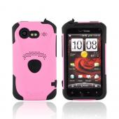 Original Trident Aegis HTC Droid Incredible 2 Hard Cover Over Silicone Case w/ Screen Protector, AG-INC-S-PK - Pink/ Black