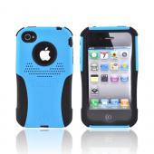 Original Trident AT&amp;T/Verizon Apple iPhone 4, iPhone 4S Aegis Hard Case Over Silicone w/ Screen Protector, AG-IPH4-BL - Blue/Black
