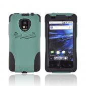 Original Trident Aegis T-Mobile G2X Anti-Skid Hard Cover Over Silicone Case, AG-LG-G2X-BG - Green/ Black