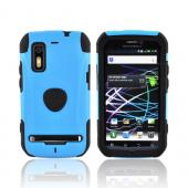 Original Trident Aegis Motorola Photon 4G Hard Cover Over Silicone Case, AG-PHTN-BL - Blue/ Black