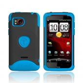 Original Trident Aegis HTC Rezound Hard Cover on Silicone Case w/ Screen Protector, AG-RZND-BL - Blue/ Black