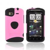 Original Trident Aegis HTC Sensation 4G Rubberized Hard Cover Over Silicone Case, AG-SEN-PK - Pink/ Black