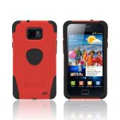 Original Trident Aegis AT&T Samsung Galaxy S2 Hard Cover Over Silicone Case w/ Screen Protector, AG-SGX2-RD - Red/ Black