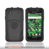 Original Trident Aegis Samsung Vibrant /Galaxy S 4G Hard Cover Over Silicone Case w/ Screen Protector,AG-SVIB-4-BK - Black