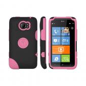 Original Trident Aegis HTC Titan 2 Hard Case Over Silicone w/ Screen Protector, AG-TITAN2-PK - Pink/ Black