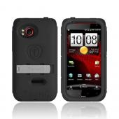 Original Trident Kraken AMS HTC Rezound Hard Case on Silicone w/ Screen Protector, Kickstand, & Belt Clip, AMS-RZND-BK - Black