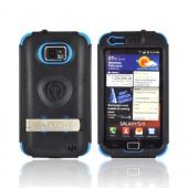 Original Trident Kraken AMS AT&amp;T Samsung Galaxy S2 Hard Case Over Silicone w/ Screen Protector, Kickstand, &amp; Belt-Clip, AMS-SGX2-BL - Blue/ Black