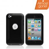 Original Otterbox Defender Series Apple iPod Touch 4 Hard Case, APL2-T4GXX-20-E - Black