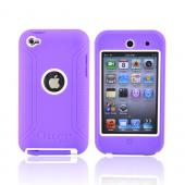 Original Otterbox Defender Series Apple iPod Touch 4 Hard Case, APL2-T4GXX-B3-E - Purple/White