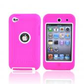 Original Otterbox Defender Series Apple iPod Touch 4 Hard Case, APL2-T4GXX-B4-E - Hot Pink/White