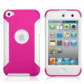 Original Otterbox Commuter Series Apple iPod Touch 4 Hard Case w/ Screen Protector, APL4-T4GXX-44-E - Pink/White