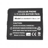 Blackberry Curve 9360 Standard Battery Replacement (700 mAh) - Black