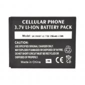 Samsung Exhibit T759 Standard Battery Replacement (1200 mAh) - Black
